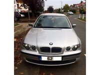 BMW 320td 52 plate compact FULL 1 YEAR MOT + EXTRAS