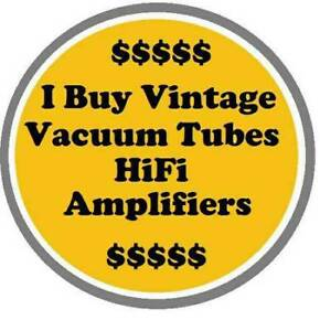 Looking for vintage Stereo Equipment,Tubes,Records