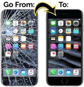 iphone Screen Repair [6 65$] [6+ 70$] [6S 75$]— WE COME TO YOU