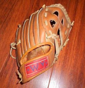 Leather baseball glove 11''