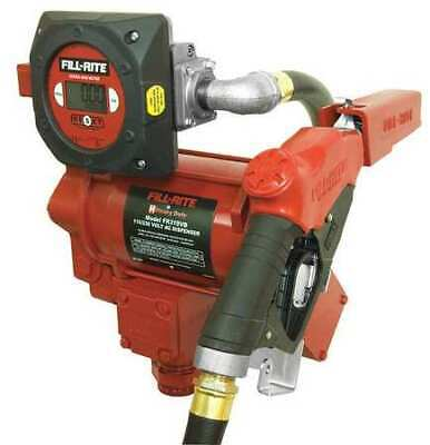 Fill-rite Fr319vb Fuel Transfer Pump 115230vac 35 Gpm 34 Hp Cast Iron