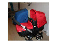 Bugaboo donkey duo v1.1 double pushchair