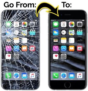 iphone Screen Repair [5/5S 50$] [6 65$] [6S 75$] FREE PROTECTOR