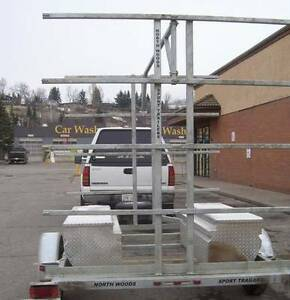 8 Place Canoe/16 Kayak Trailer with OPTIONAL storage boxes Yellowknife Northwest Territories image 6