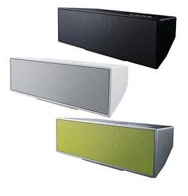 PioneerXW-BTSA-1, kabelloser Bluetooth-Lautsprecher, weiß, schwarz, grün