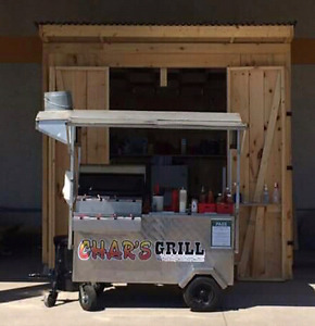 Hot dog  cart for sale with/ without shed