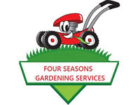 Four Seasons Gardening Services **Grass cut for as little as 5 pounds** LS/G