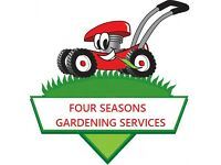 Four Seasons Gardening Services **Grass cut for as little as 5 pounds** landscape gardener