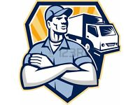 MAN WITH A VAN SHORT NOTICE 24/7 MAN & VAN HIRE REMOVEL SERVICE HOUSE MOVERS & HANDYMAN DRIVER