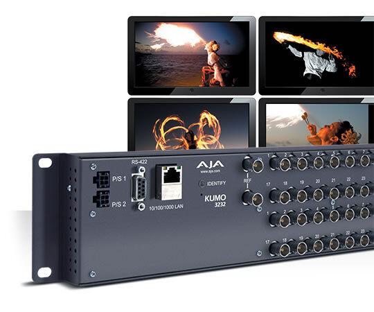 Aja Kumo 3232 32x32 Compact 3g-sdi/hd-sdi/sdi Router