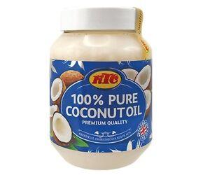 6x500 ml KTC Reines Kokosöl Kokosnussöl Öl, Cocosöl Massageöl Coconut Oil