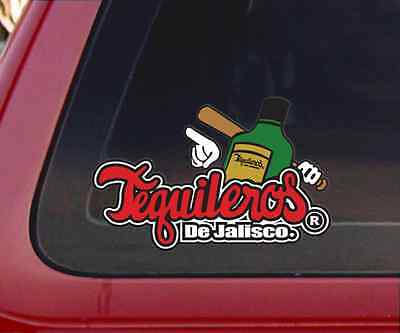Tequileros De Jalisco Baseball Car Decal / Sticker Baseball Car Decals