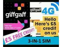 Giffgaff 4g ready sim cards