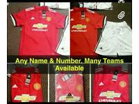 Football Kits Your Name Any Number