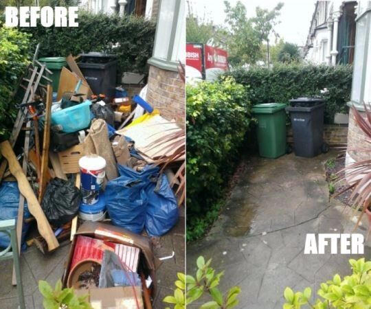 (50%OFF)rubbish removals, house , waste , garden , man with van, clearance, disposal ,garden, metal