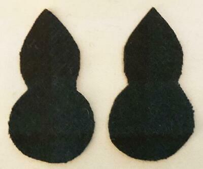 - British Army Royal Scots Fus. Tartan Patches Signs Flashes Pair (Black Watch)