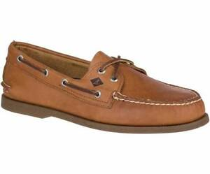 Sperry Top-Sider Men's A/O Boat Shoes (Tan) BRAND NEW Size 10.5