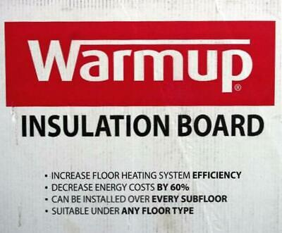 Warmup Floor Concrete And Foam Insulation Board 316 Thick- 50 Sq Ft