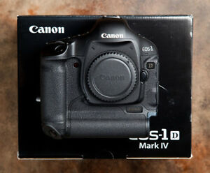 Canon Eos 1D mark IV pro body in box with all accessories