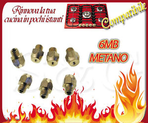 Ugelli iniettori kit a gas bombola gpl per cucine a gas - Cucine a gas metano ...