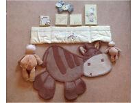 Zeddy and Parsnip nursery set