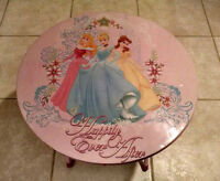 Disney Princesses Folding Activity Table