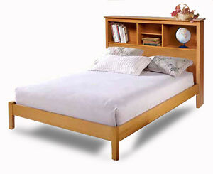 Twin and Full Bookcase Headboard Bed Furniture Woodworking ...
