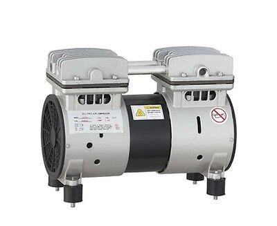 1 Hp New Noiseless Oil Free Dental Air Compressor Motor 220v