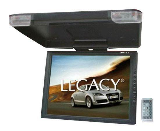 "LEGACY 15"" LCD TFT Car/SUV/TRUCK Flip Down Roof Mount Monitor TV IR (Open Box)"