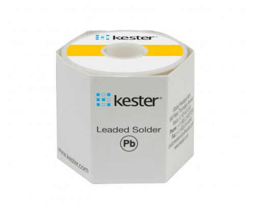 "Kester 24-6040-0027 Rosin Wire Solder, 60/40, 0.031""Dia.(0.80mm), 1 Lb Per Spool"