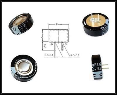 Panasonic Goldcap Superkondensator Supercap 1f 55v 70 21x7mm Rm5mm 1 Stck