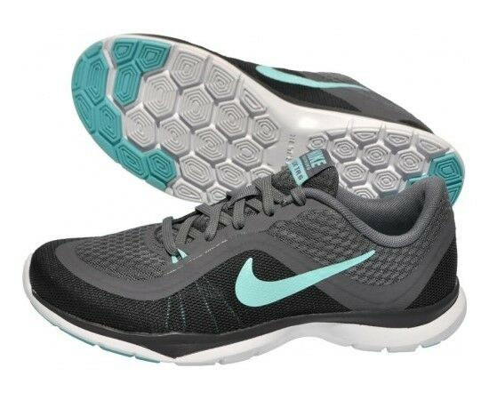 Nike Womens Flex Trainer 6 Black White 831217 004 Womens Us Size 11.5
