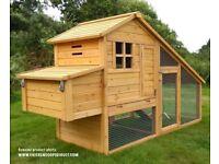 Chicken coop & run