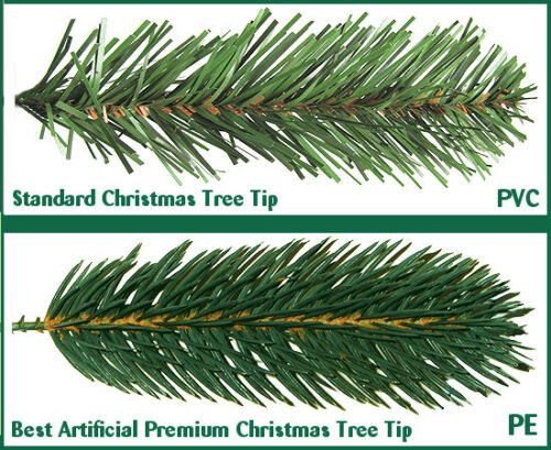 Best Artificial Premium 7ft Hinged Christmas Tree Indoor Realistic ...
