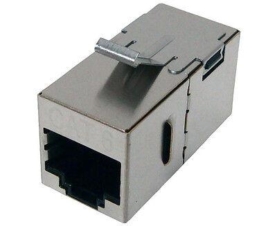Cyberxlink 10x Cat 6 Keystone Jack Network Ethernet Shiel...