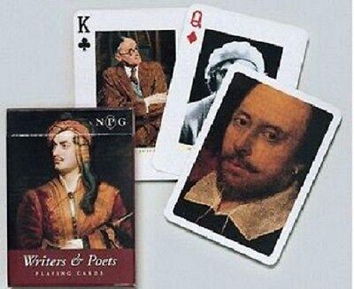 Writers & Poets single deck By Piatnik Playing Cards