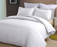 White Duvet Covers,Premium quality,T-200 (50% Cotton 50% Poly)