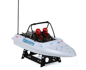 NQD Tear Into RC Jet Boat White