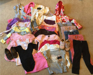 Lot of size two girl clothing