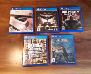 Ps4 Games $25!