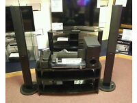 Ex demo sony home theatre kit with tall speakers.