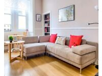 Habitat Corner Sofa - Beige - Modular