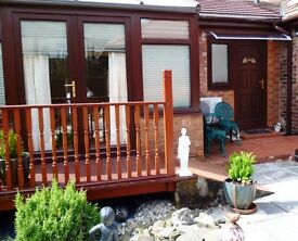 Garden Suite, One Bed serviced Apartment, Short Term, Corporate or Holiday Lets.