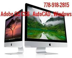 Fix Computer Apple & MAC & LAPTOP Software Photo video editing