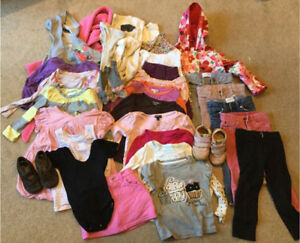 Lot of girl clothes - size 2