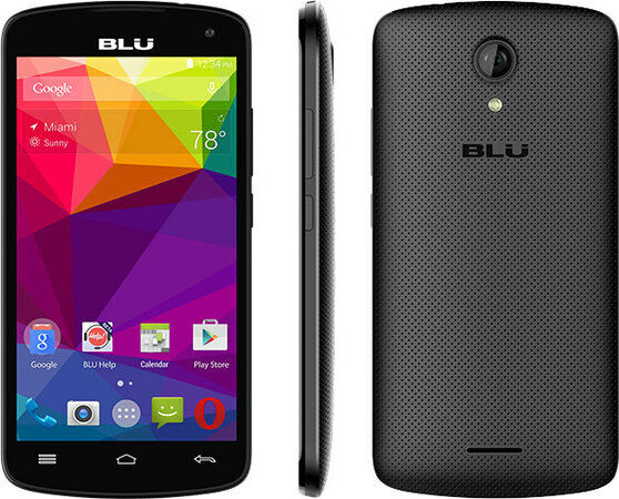 BLU Studio S530 Unlocked GSM Dual-SIM Phone Black