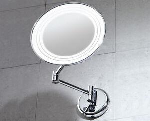 Specchio ingranditore gerard da parete con luce gedy bagno cod 2116 ebay - Specchio ingranditore da bagno ...