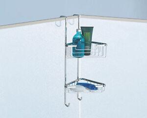 Portasapone porta oggetti angolare appendibile vasca box - Porta saponi doccia ...