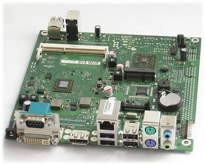 Fujitsu D3003-B12 GS4 Mainboard mini ITX NEU/NEW mit CPU AMD 1,2GHz Futro S700