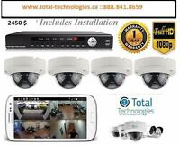 Home alarm system and camera system || automation || cabling || Networking